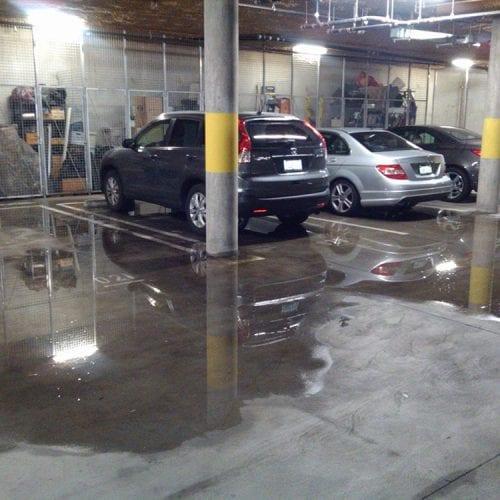 Garage Leak